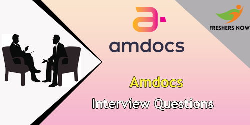 Amdocs Interview Questions