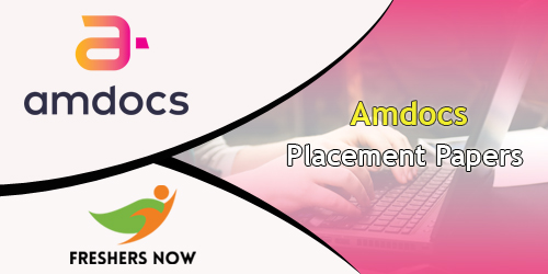 Amdocs Placement Papers
