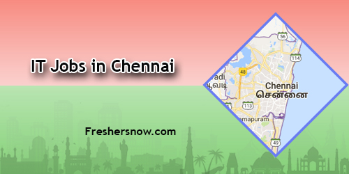 IT Jobs in Chennai 2018
