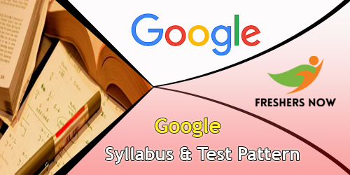 Google Syllabus And Test Pattern