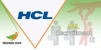 HCL Recruitment