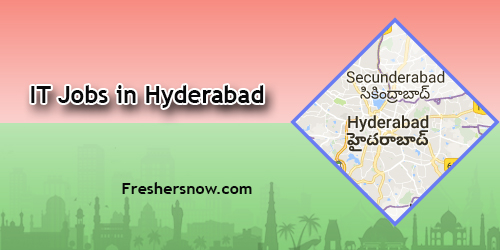 IT Jobs in Hyderabad
