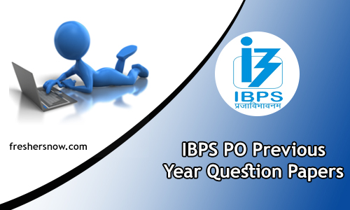 IBPS PO Previous Year Question Papers