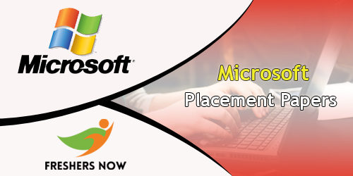 microsoft placement papers 2018 pdf download freshersnow com