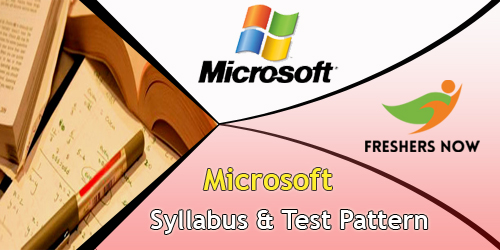 Microsoft Syllabus And Test Pattern