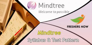 Mindtree Syllabus And Test Pattern