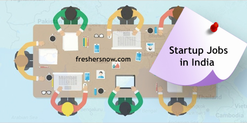 Startup Jobs in India 2018