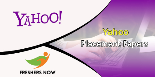 Yahoo Placement Papers