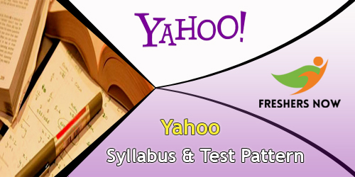 Yahoo Syllabus And Test Pattern
