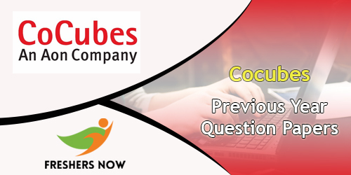 CoCubes Previous Year Question Papers