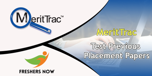 MeritTrac Previous Placement Papers