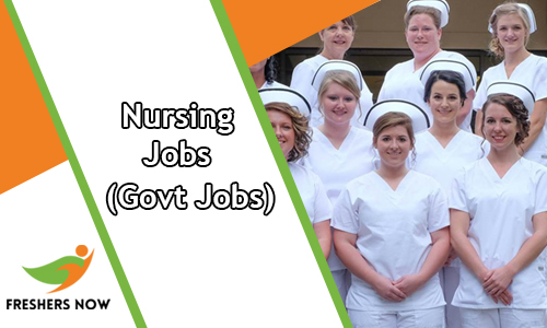 Nursing Govt Jobs