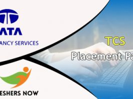 TCS Placement Papers