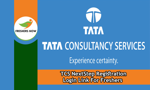 TCS NextStep Registration Login Link