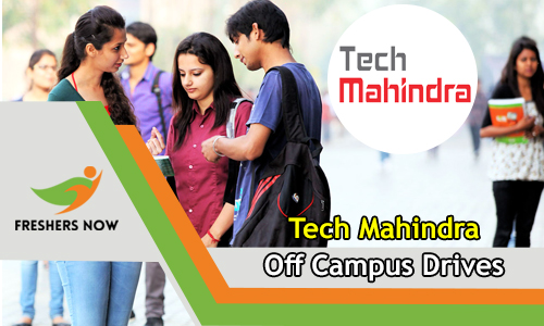 Tech Mahindra Off Campus 2019 Drive For Freshers (2018, 2019