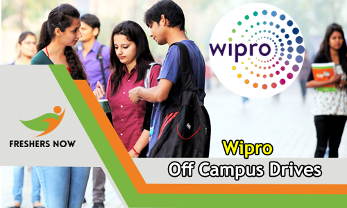 Wipro Off Campus 2019 Drive Freshers 2018, 2019 & 2020 Batch Passout