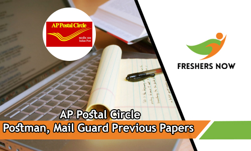 AP Postal Circle Postman Previous Papers