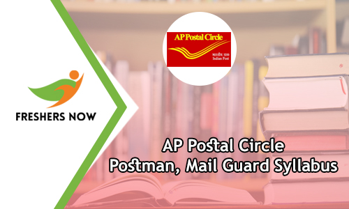 AP Postal Circle Postman Syllabus 2019 PDF Download, Exam