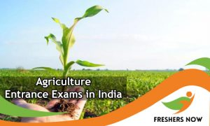 Agriculture Entrance Exams in India