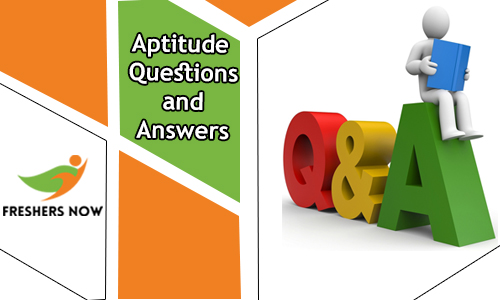 Aptitude Questions and Answers with Solutions