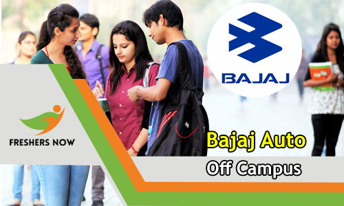 Bajaj Auto Off Campus