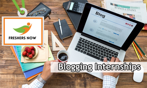 Blogging Internships