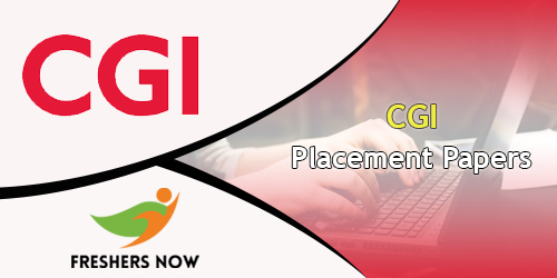 CGI Placement Papers