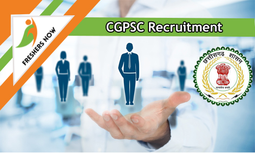 CGPSC Recruitment