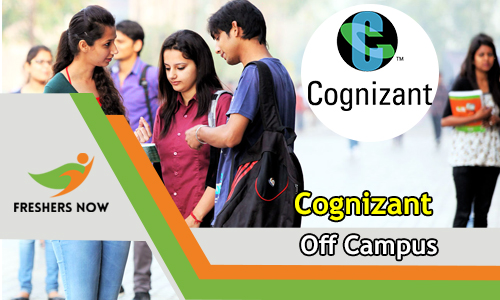 Cognizant Off Campus 2019 Drive For 2018, 2019 & 2020 Freshers