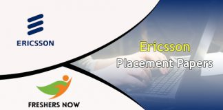 Ericsson Placement Papers