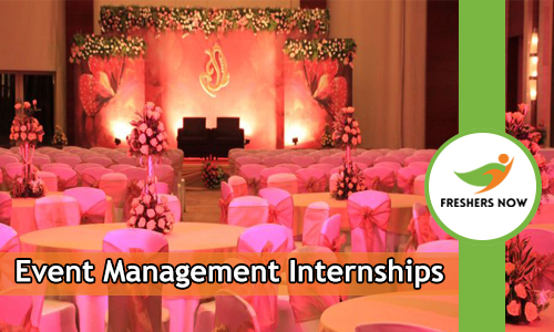 Event Management Internships