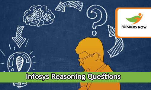 Infosys Reasoning Questions