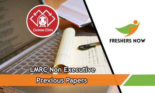 LMRC Non Executive Previous Papers