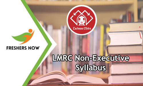 LMRC Non Executive Syllabus