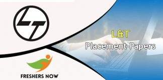 L&T Placement Papers