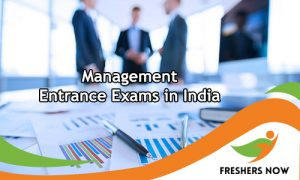 Management Entrance Exams in India