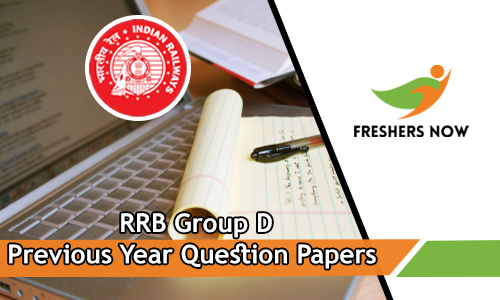 Download RRB Group D Previous Year Question Papers PDF - Model