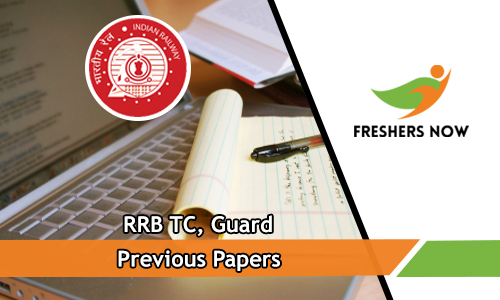 RRB TC Previous Papers