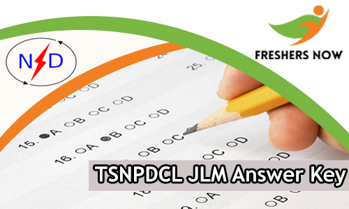 TSNPDCL JLM Answer Key