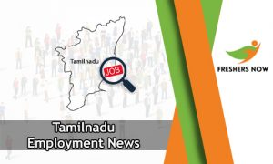 390 Tamilnadu Employment News