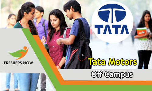 Tata Motors Off Campus