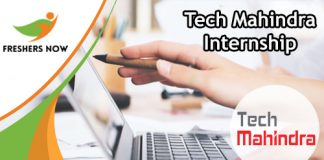 Tech Mahindra Internship