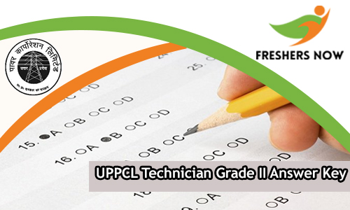 UPPCL Technician Grade II Answer Key