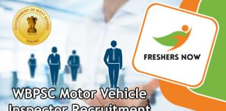 WBPSC Motor Vehicle Inspector Jobs
