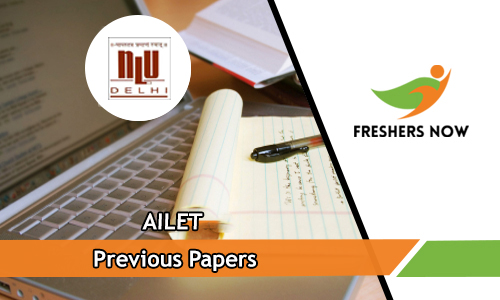 AILET Previous Papers