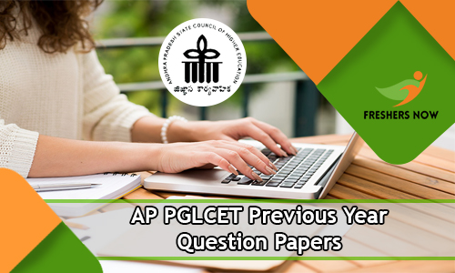 AP PGLCET Previous Year Question Papers