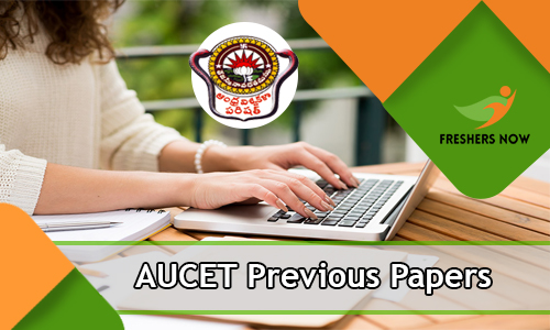 AUCET Previous Papers