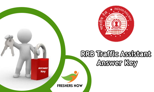 RRB Traffic Assistant Answer Key