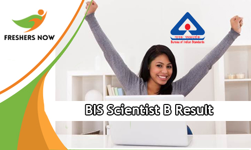 BIS Scientist B Result