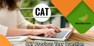 CAT Previous Year Question Papers